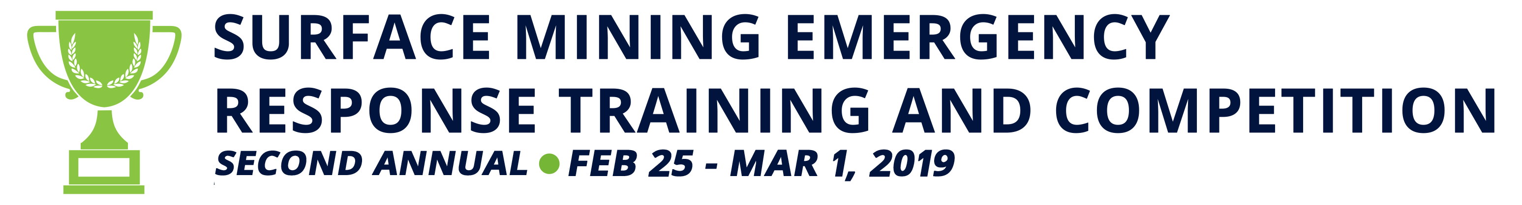 Surface Mining Emergency Response Training and Competition